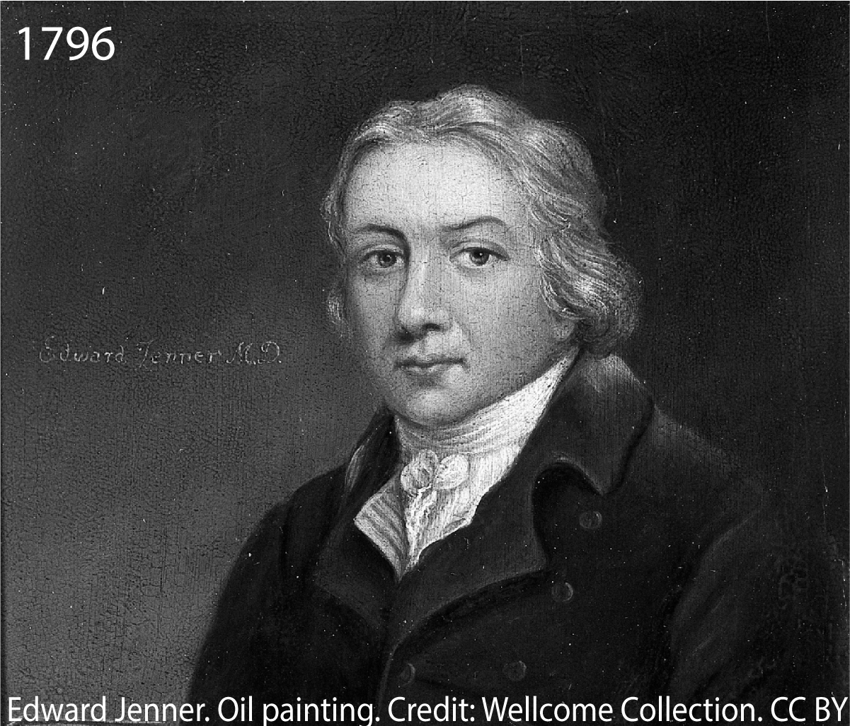 Edward Jenner, Oil Painting